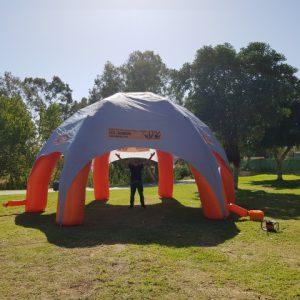 השכרת אוהל מתנפח